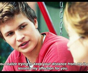 the fault in our stars, tfios, and ansel elgort image