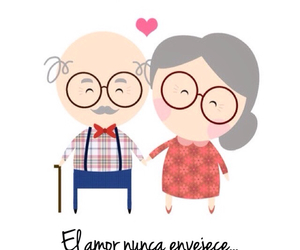 love and old image