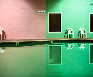 green, grunge, and pink image