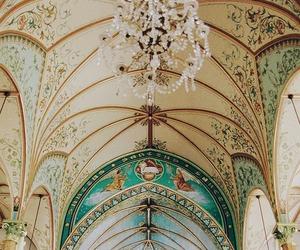 interior, architecture, and art image