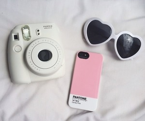 iphone, pink, and camera image
