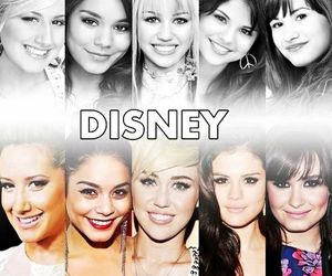 disney, demi lovato, and selena gomez image