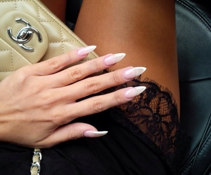 chanel, cute, and nails image