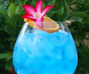 drink, blue, and summer image