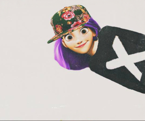 rapunzel, hipster, and x image