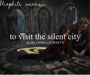 bibliophile, books, and the mortal instruments image