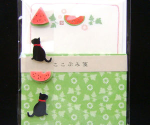 cat, kitty, and Letter image