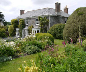 cottage, english, and garden image