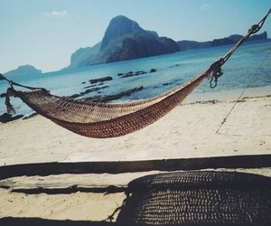 beach, relax, and travel image