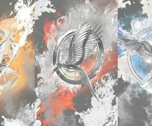 catching fire, thg, and mockingjay part 1 image