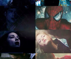 death, emma stone, and peter parker image