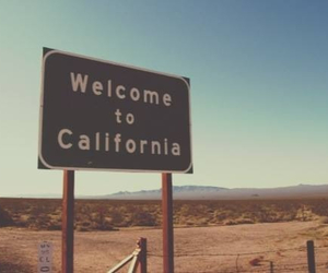 california, summer, and welcome image