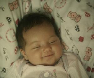 asleep, baby, and beautiful image