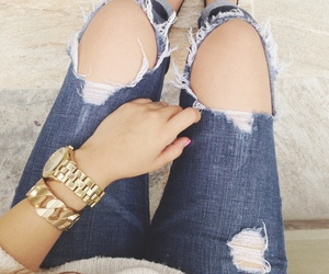 accessories, blue, and classy image