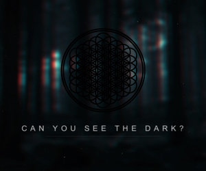 dark, bmth, and bring me the horizon image
