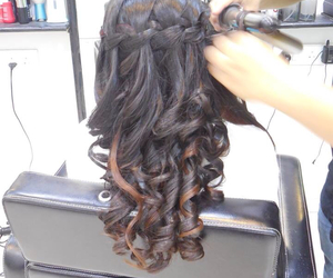 braids, hair do, and hairstyle image