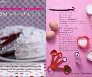 blog, cake, and ingredients image