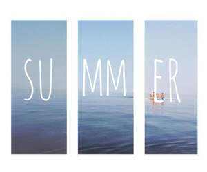 summer, beach, and june image