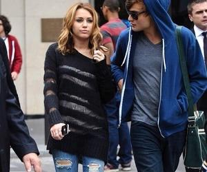 miley cyrus, douglas booth, and cute image
