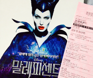 Angelina Jolie, poster, and maleficent image