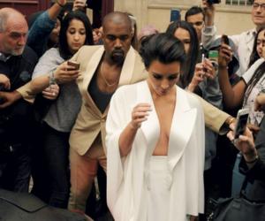 kim kardashian, kanye west, and kuwtk image