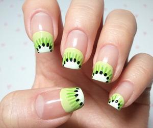 nails, kiwi, and fruit image