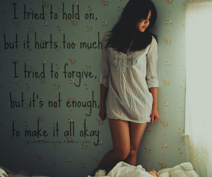 hurt, bed, and forgive image