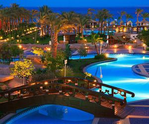 pool, light, and luxury image