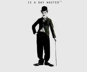 charlie chaplin, quote, and laughter image