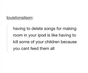 children, funny, and ipod image