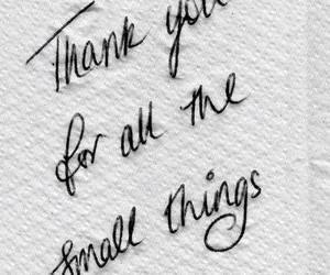 small, thank you, and thing image