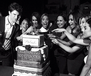 pretty little liars, pll, and cake image