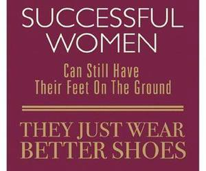 quote, shoes, and women image