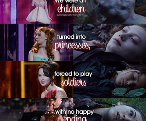 the hunger games, katniss, and Clove image