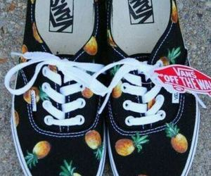 pineapple, shoes, and vans image