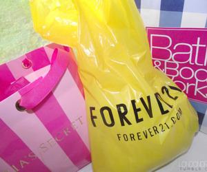 bags, forever21, and shopping image