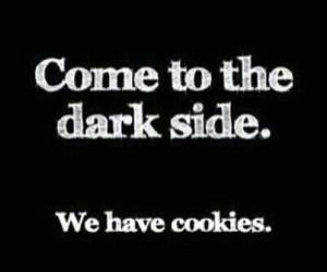 Cookies, dark, and dark side image