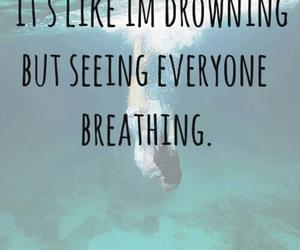 breathing, indie, and ocean image