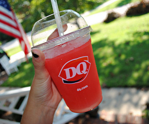 dq, yum, and drink image