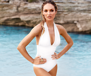 beauty, summer, and candice swanepoel image