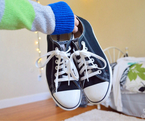 converse, quality, and shoes image