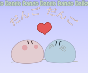anime, dango, and clannad image