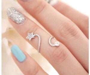 nails, ring, and stars image