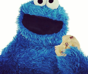 cookie monster and cookie image