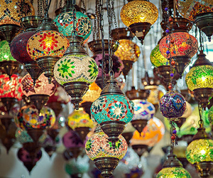lamp, light, and amazing image
