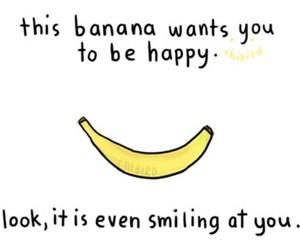 banana, OMG, and smiling image