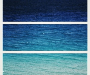 blue, summer, and ocean image