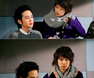 jang geun suk, park shin hye, and you're beautiful image