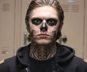 evan peters, american horror story, and murder house image