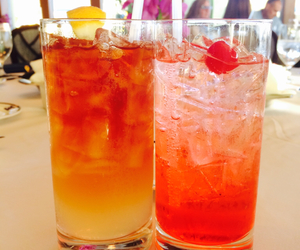 ice tea, cool drink, and sherley temple image